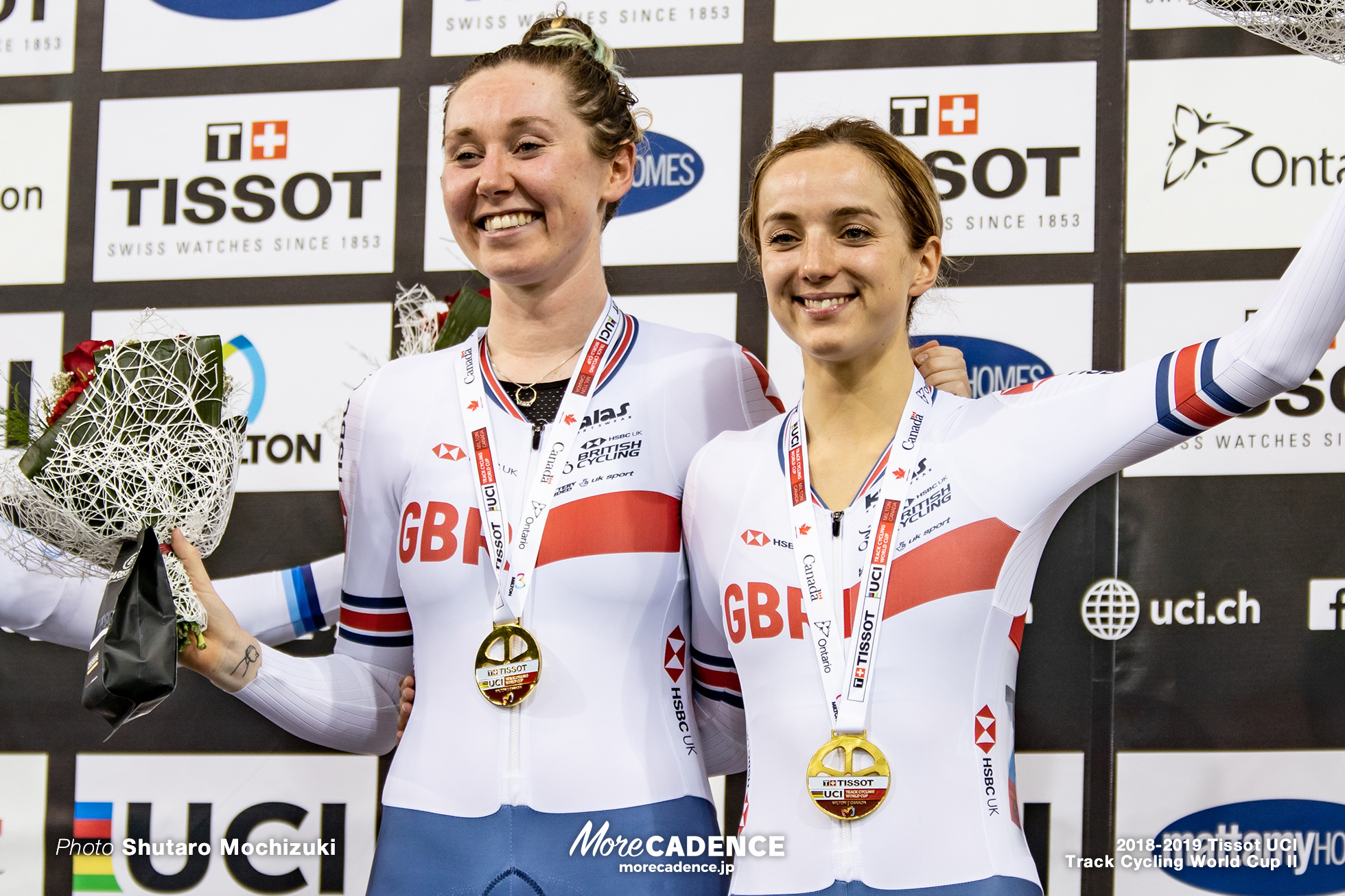 2018-2019 Tissot UCI Track Cycling World Cup II Women's Madison