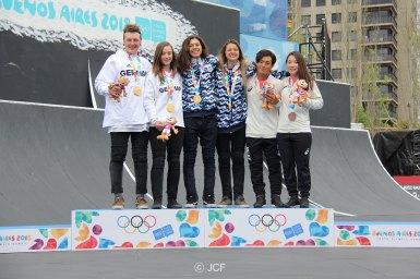 日本人初の銅メダル獲得・第3回ユースオリンピック競技大会BMXフリースタイルパーク混合