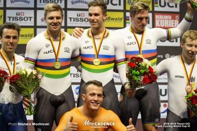 「結果を誇りに思う」オランダがバンクレコードを更新しての優勝・男子チームスプリント/2018-2019トラックワールドカップ第3戦ベルリン