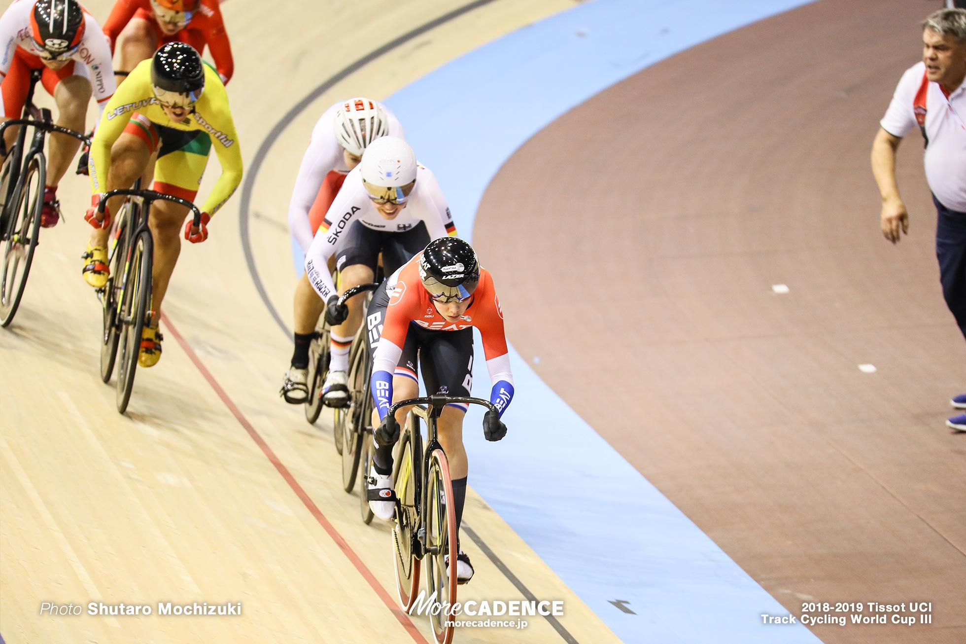 Women's Keirin 2nd Round/2018-2019 Track Cycling World Cup III Berlin