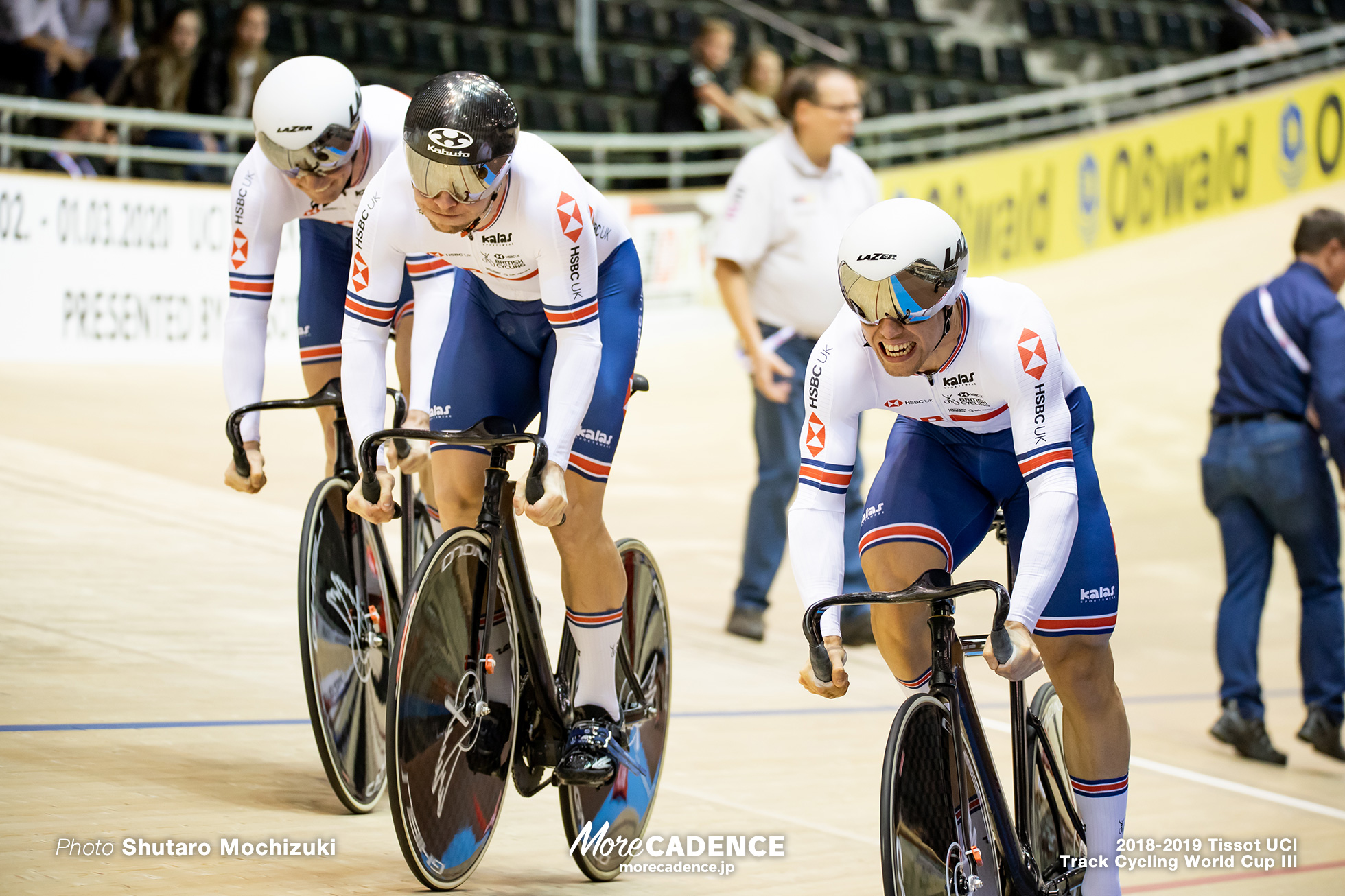 Great Britain/Men's Team Sprint/2018-2019 Track Cycling World Cup III Berlin
