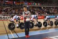 Women's Team Pursuit/Final/2018-2019 Track Cycling World Cup IV London