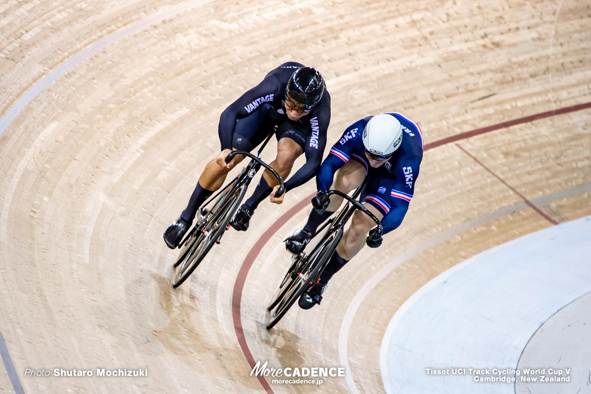 Final / Men's Sprint / Track Cycling World Cup V / Cambridge, New Zealand