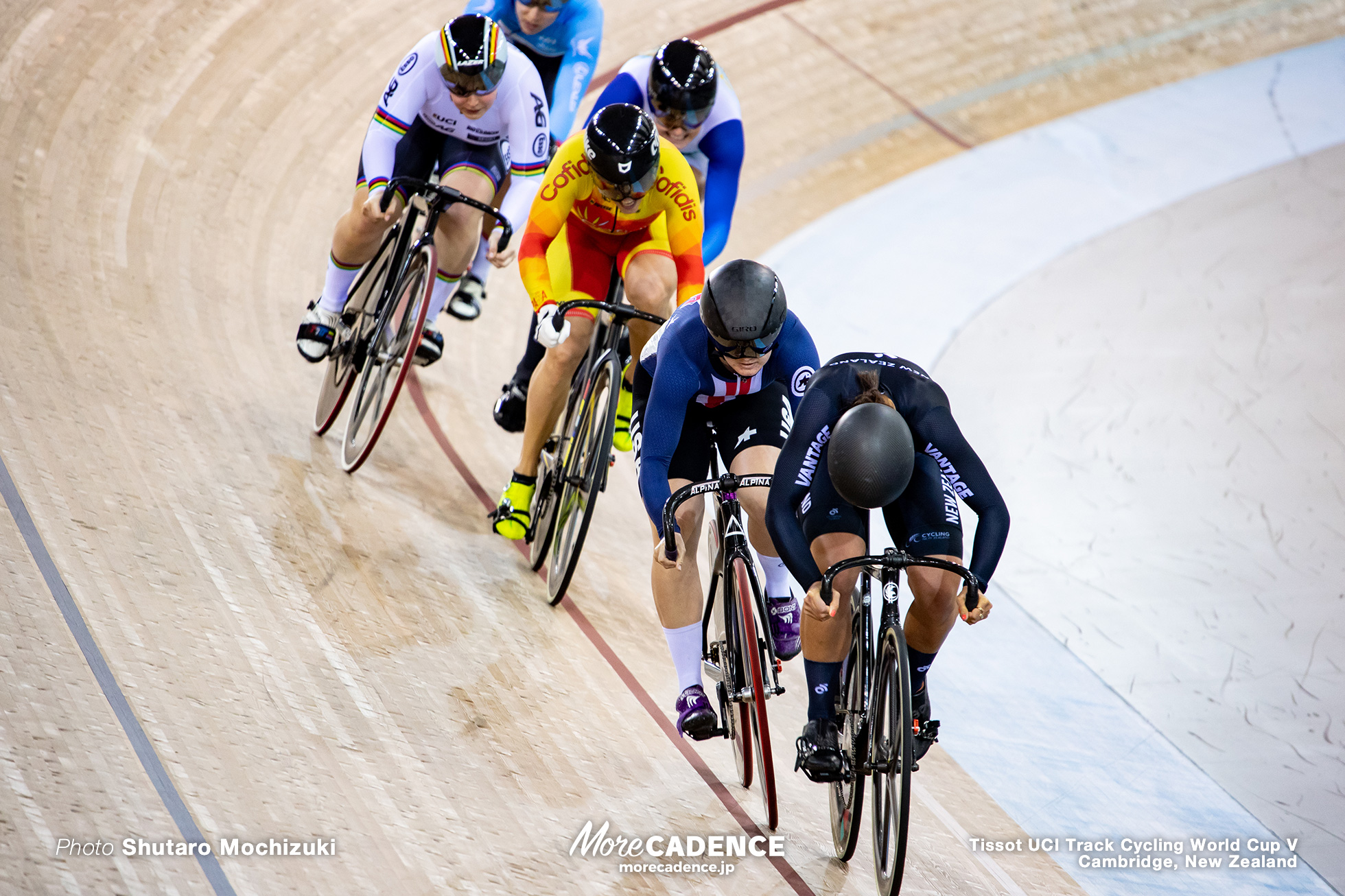 Final / Women's Keirin / Track Cycling World Cup V / Cambridge, New Zealand