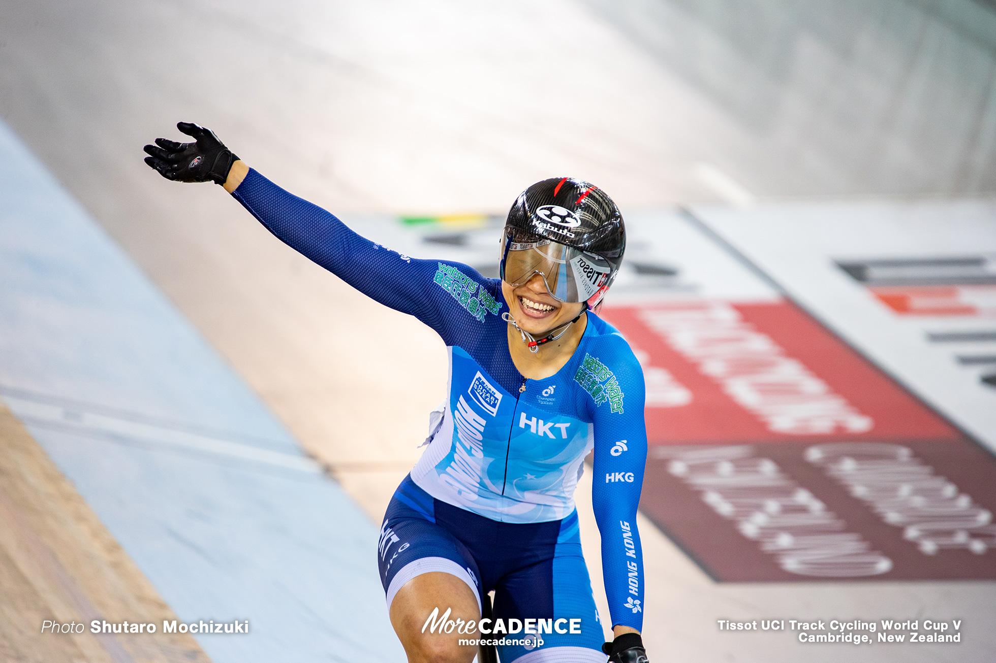 Lee Wai Sze / Final / Women's Keirin / Track Cycling World Cup V / Cambridge, New Zealand