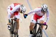 Madison / Men's Omnium / Track Cycling World Cup VI / Hong-Kong