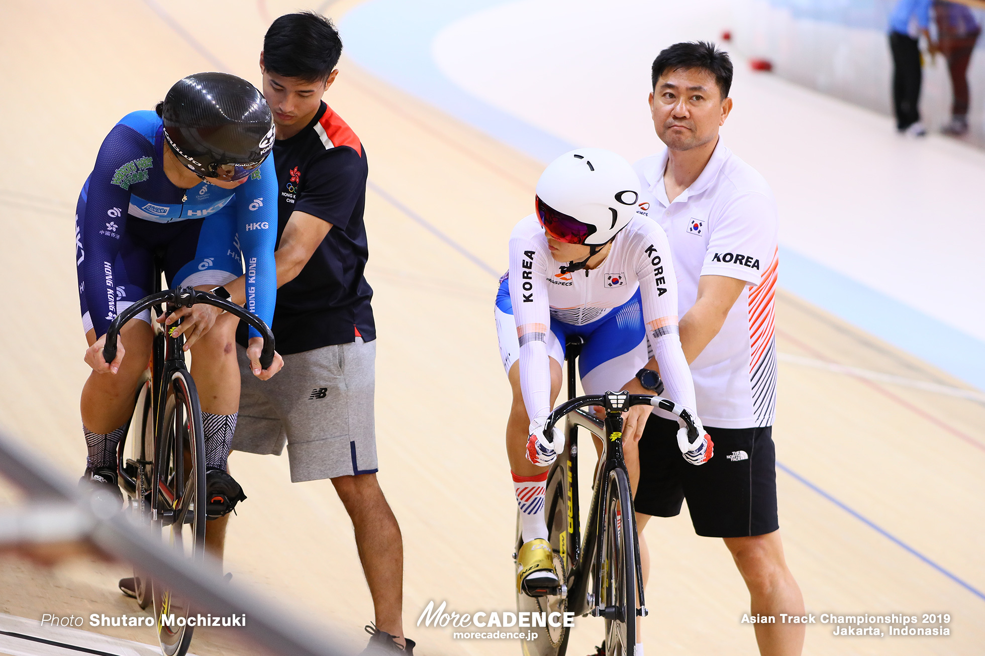 Final 2nd Round / Women's Elite Sprint / Asian Championships Track 2019 Jakarta