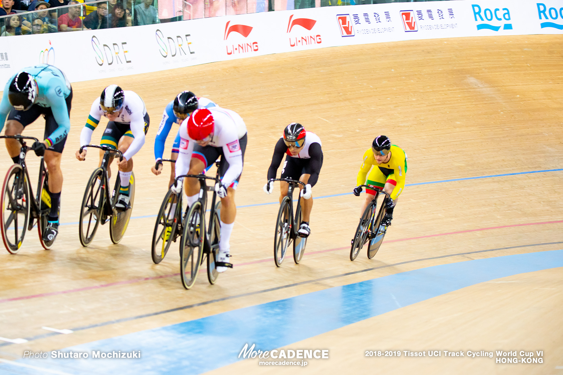 2nd Round / Men's Keirin / Track Cycling World Cup VI / Hong-Kong