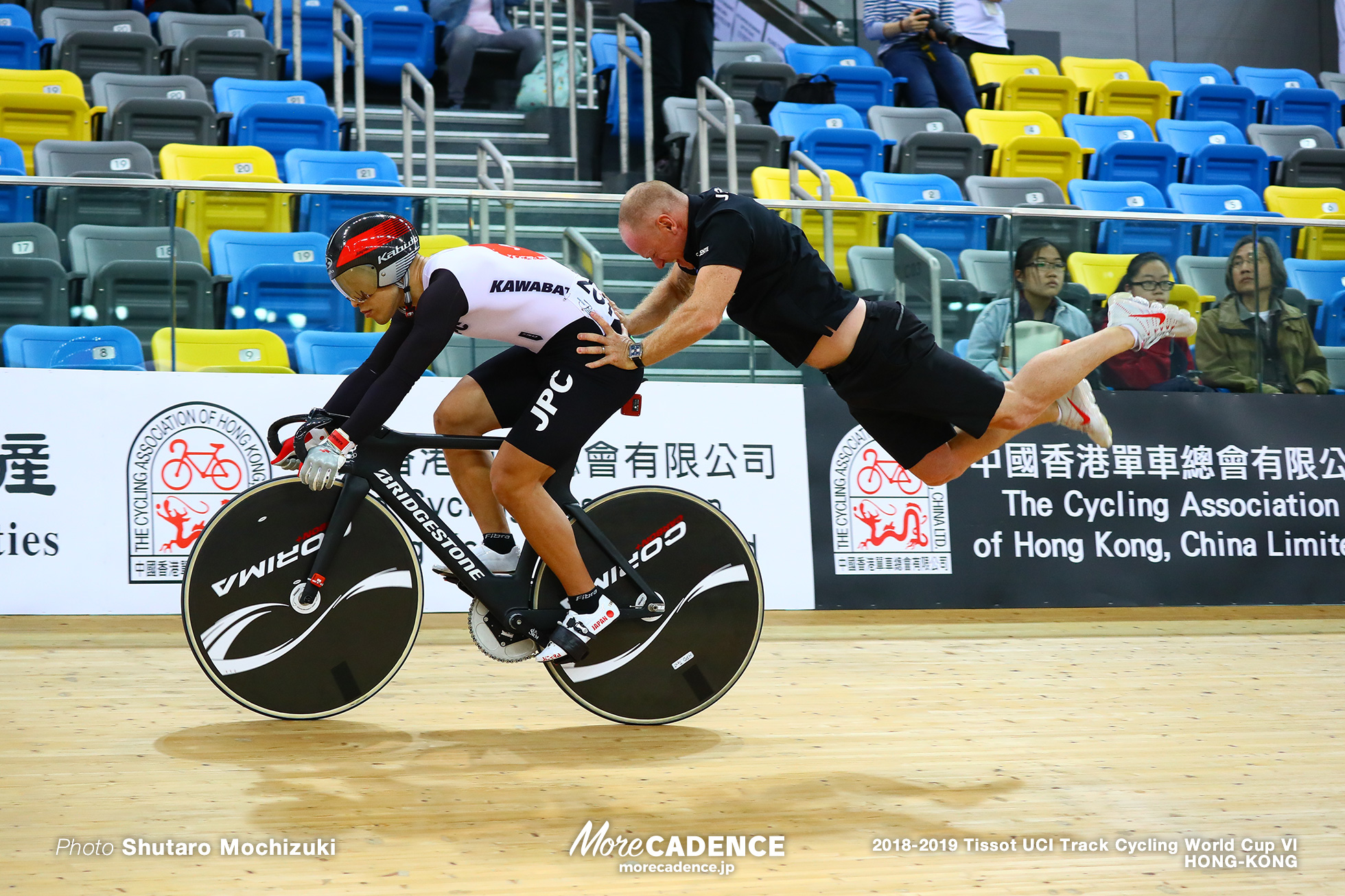 Men's Sprint / Track Cycling World Cup VI / Hong-Kong
