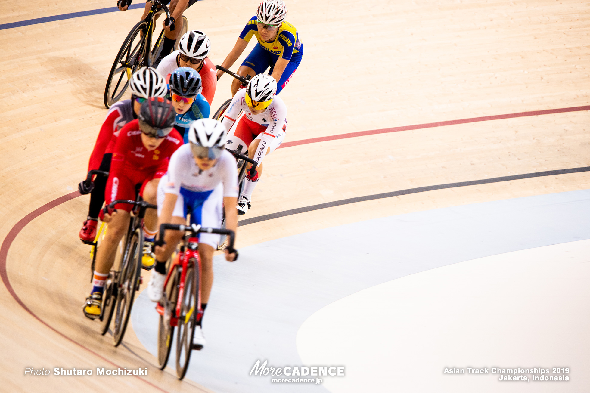 Scratch Race / Women's Elite Omnium / Asian Championships Track 2019 Jakarta