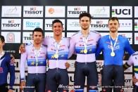 Final / Men's Team Pursuit / Track Cycling World Cup VI / Hong-Kong
