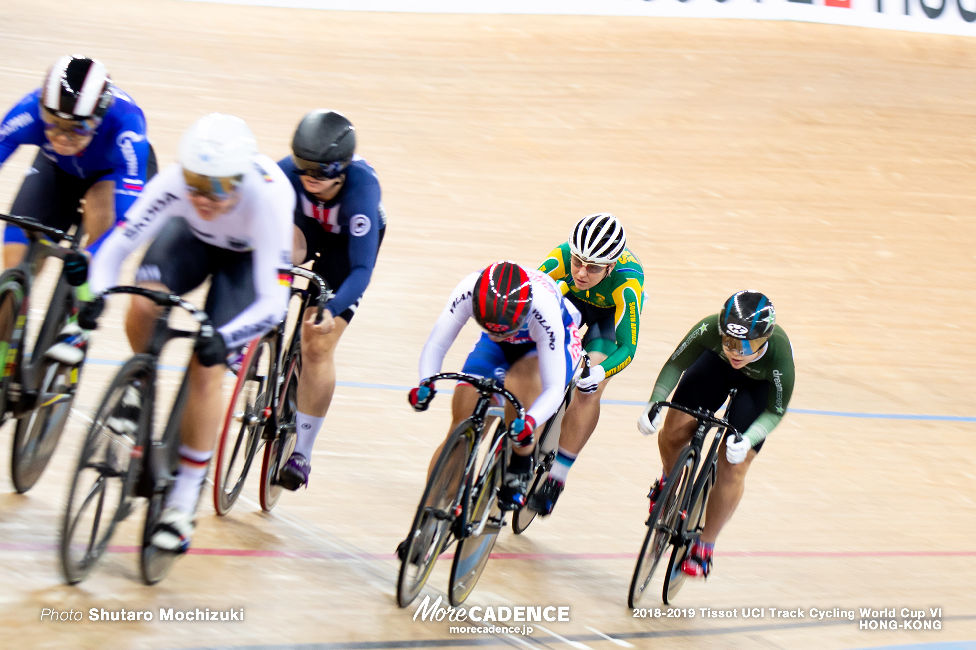1st Round / Women's Keirin / Track Cycling World Cup VI / Hong-Kong