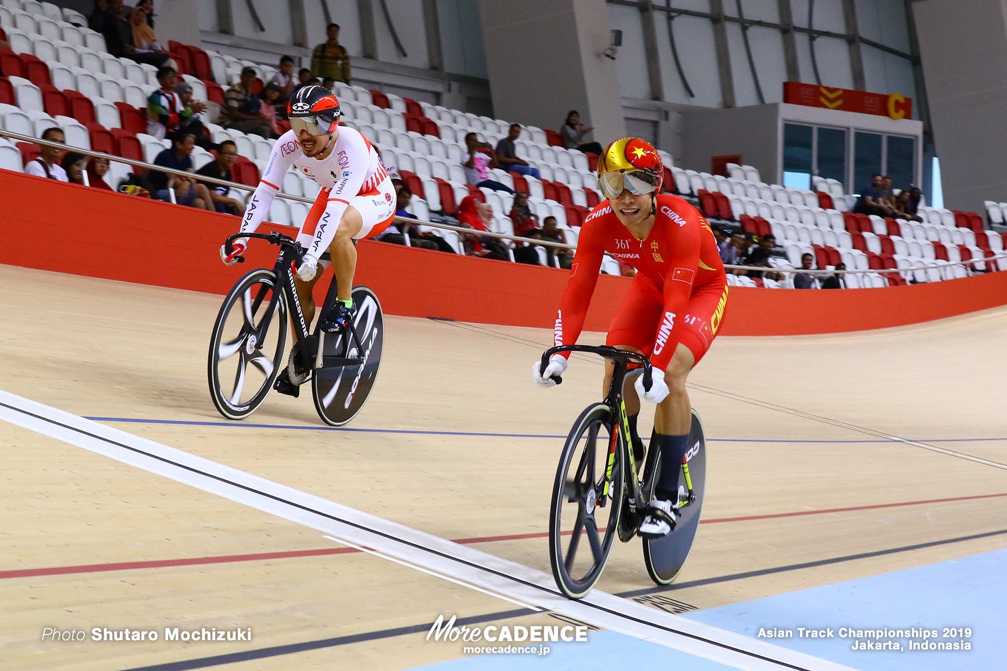Semifinal / Men's Elite Sprint / Asian Championships Track 2019 Jakarta