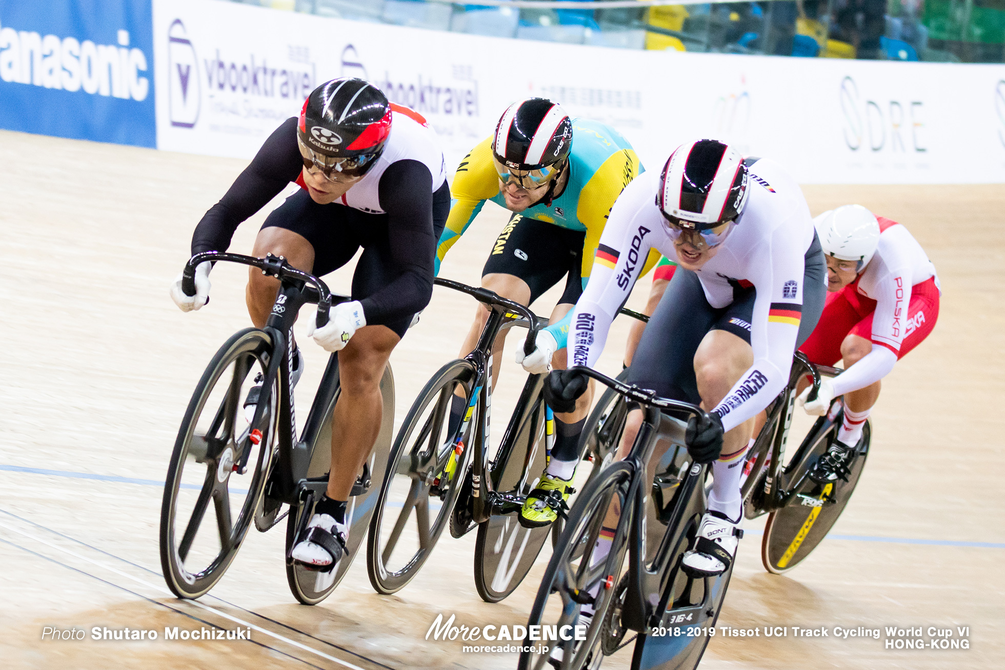 1st Round / Men's Keirin / Track Cycling World Cup VI / Hong-Kong