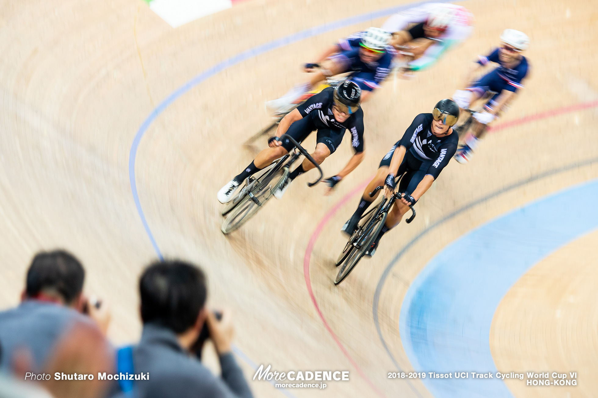 Men's Madison / Track Cycling World Cup VI / Hong-Kong