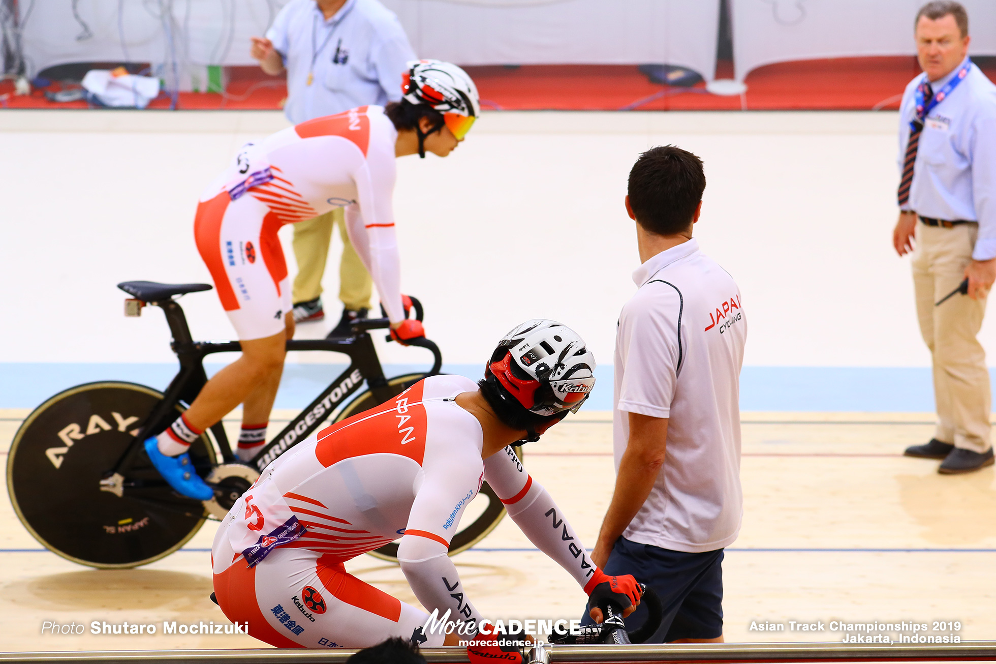 Men's Elite Madison / Asian Championships Track 2019 Jakarta