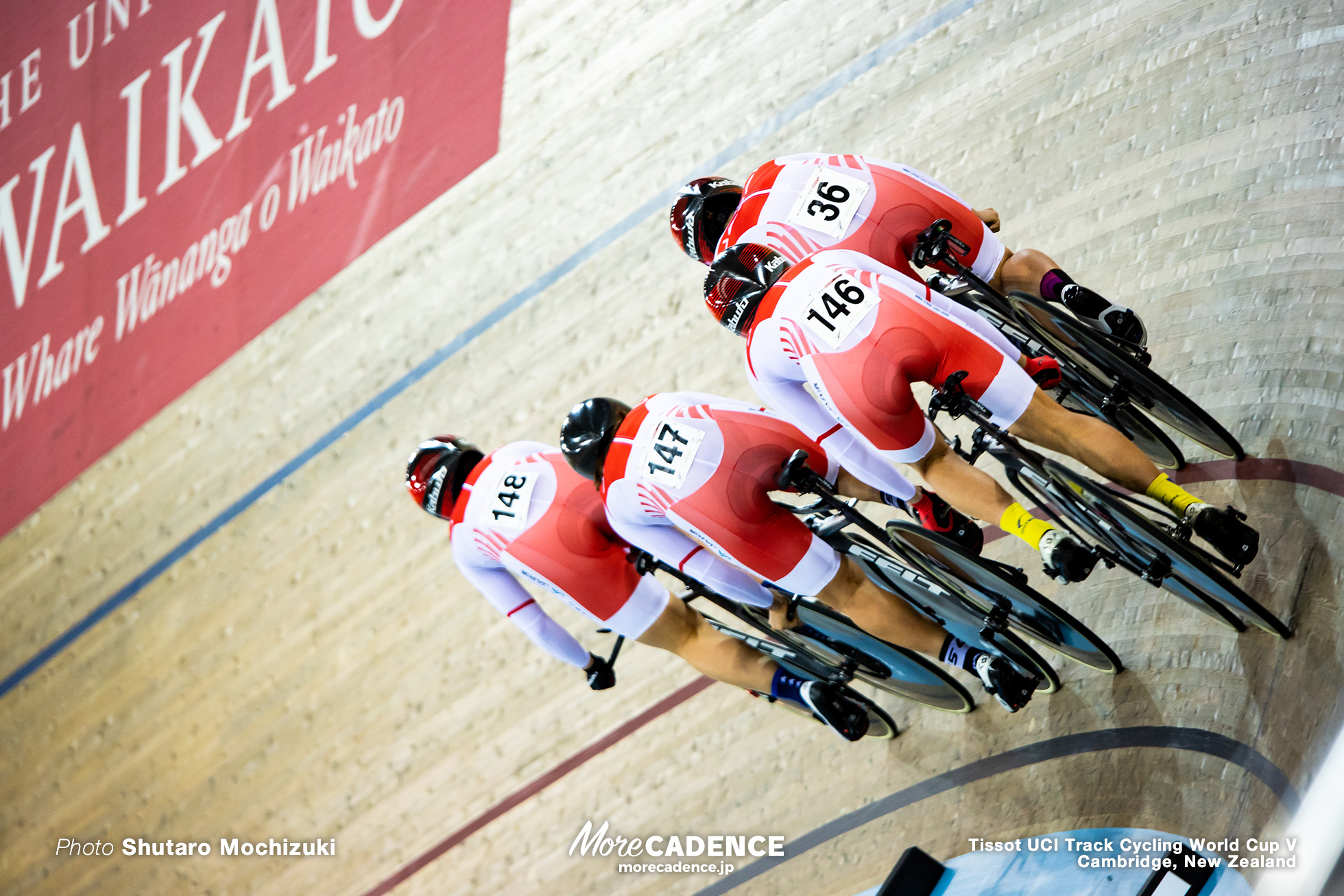 Qualifying / Women's Team Pursuit / Track Cycling World Cup V / Cambridge, New Zealand
