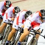 女子チームパシュート日本6位/2018-19トラックワールドカップ第5戦