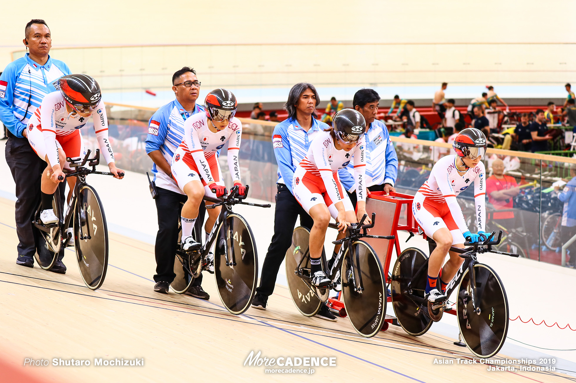 Women's Elite Team Pursuit / Asian Championships Track 2019 Jakarta