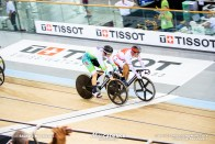 1st Round / Men's Keirin / Track Cycling World Cup V / Cambridge, New Zealand