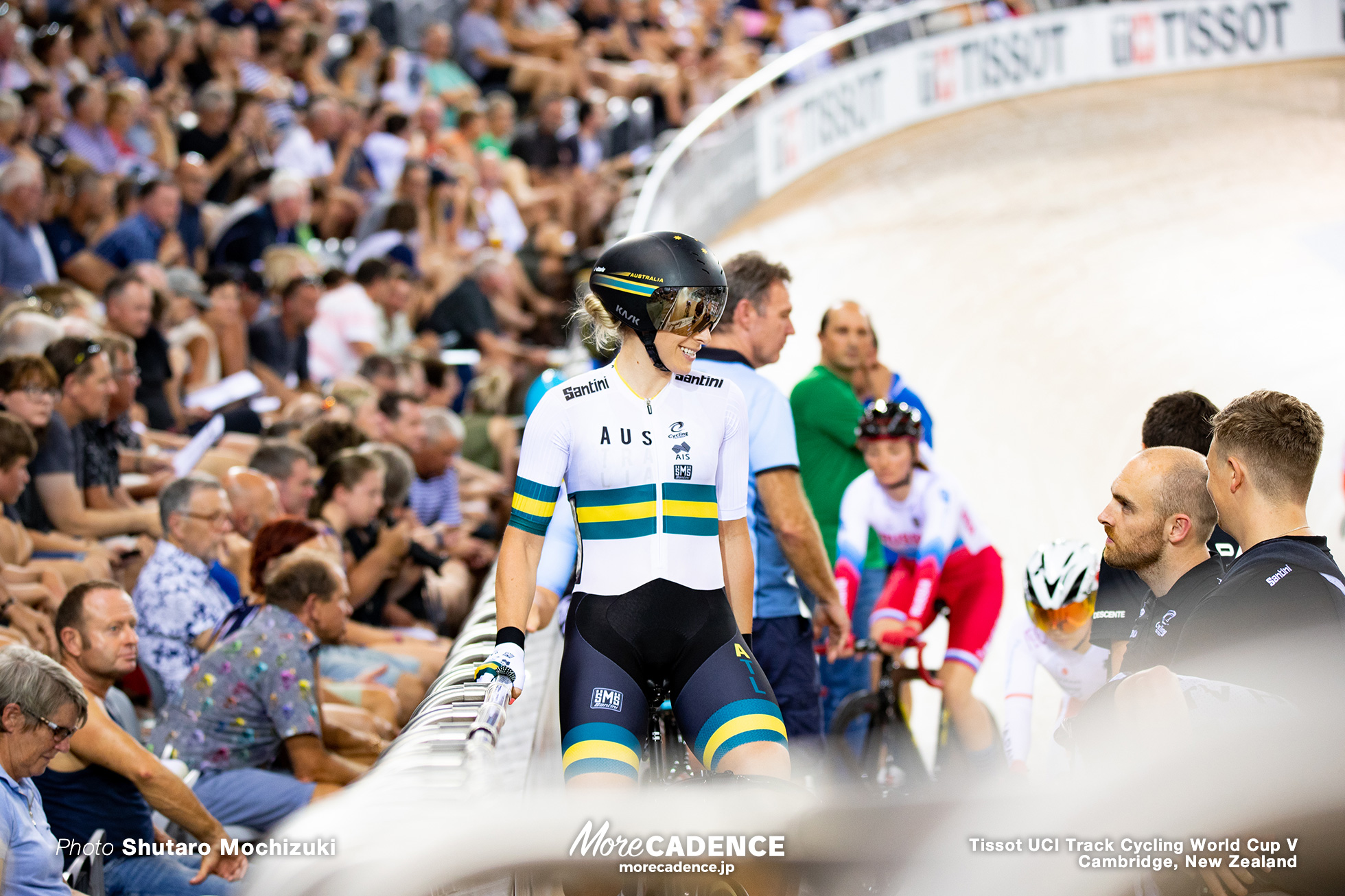 Point Race/ Women's Omnium / Track Cycling World Cup V / Cambridge, New Zealand