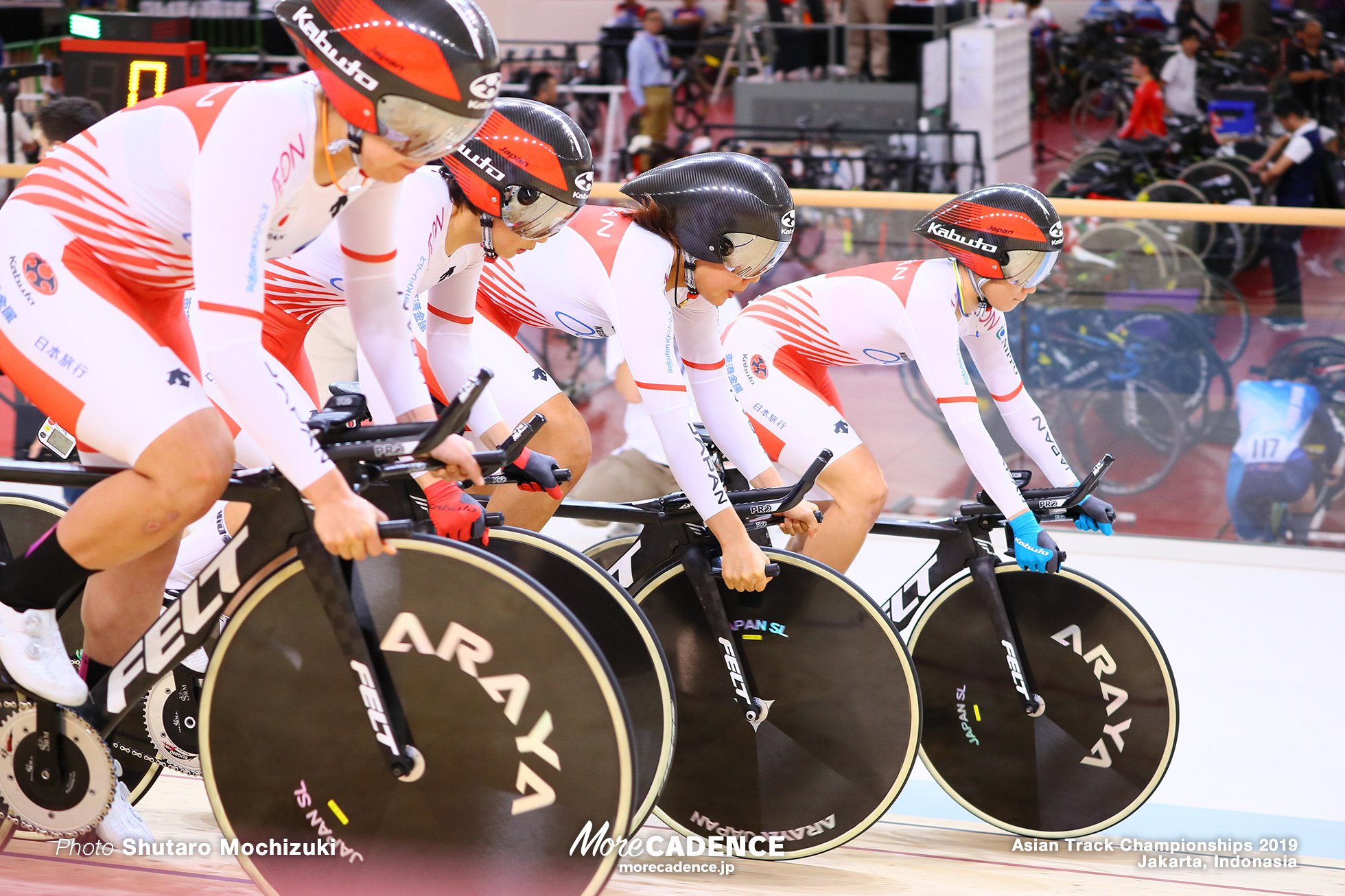 Women's Elite Team Pursuit Final / Asian Championships Track 2019 Jakarta
