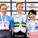 梶原悠未が銅メダル・女子オムニアム/2018-19トラックワールドカップ第5戦