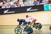 Semi Final / Men's Keirin / Track Cycling World Cup V / Cambridge, New Zealand