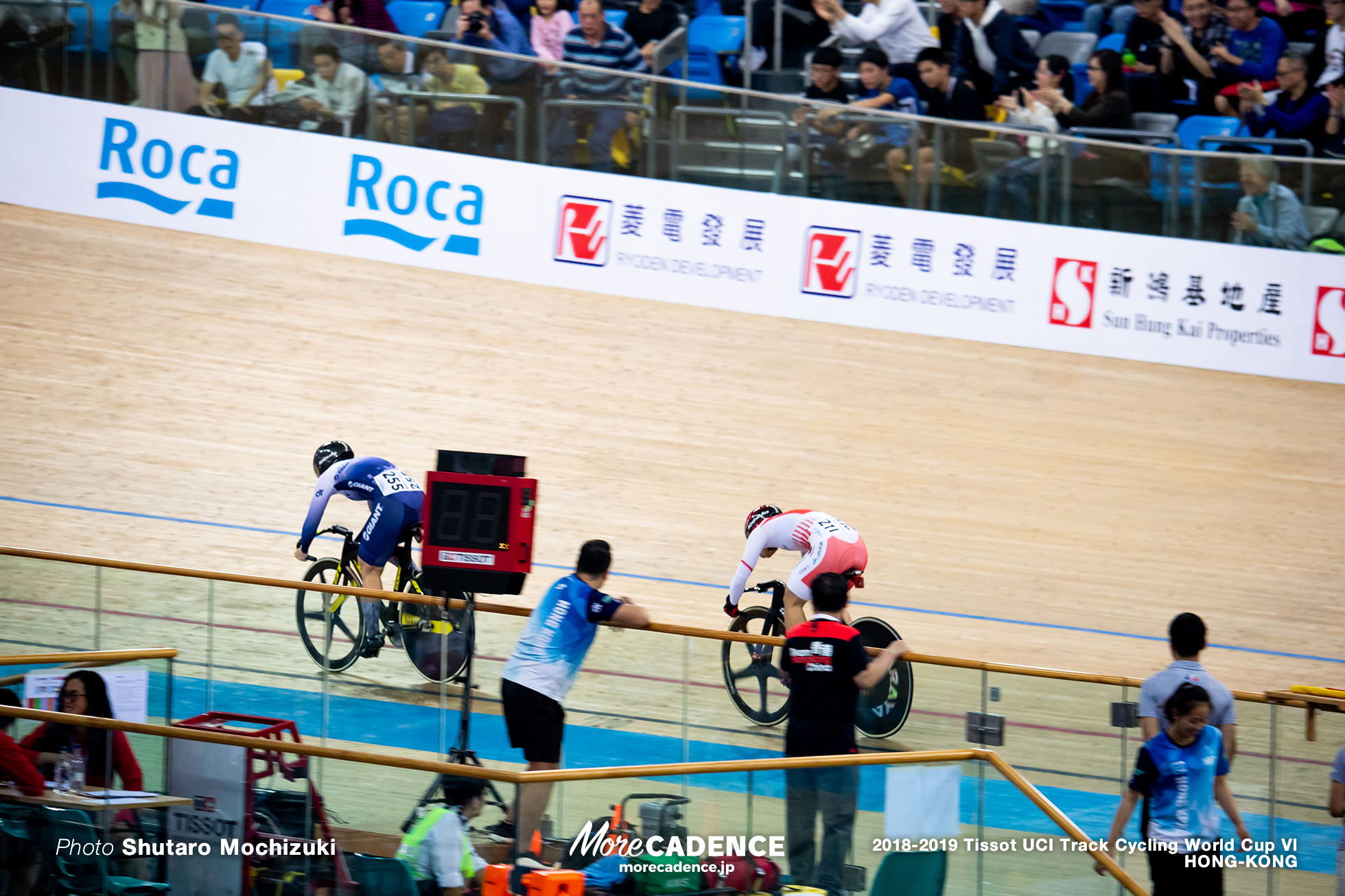 1st Round / Women's Sprint / Track Cycling World Cup VI / Hong-Kong