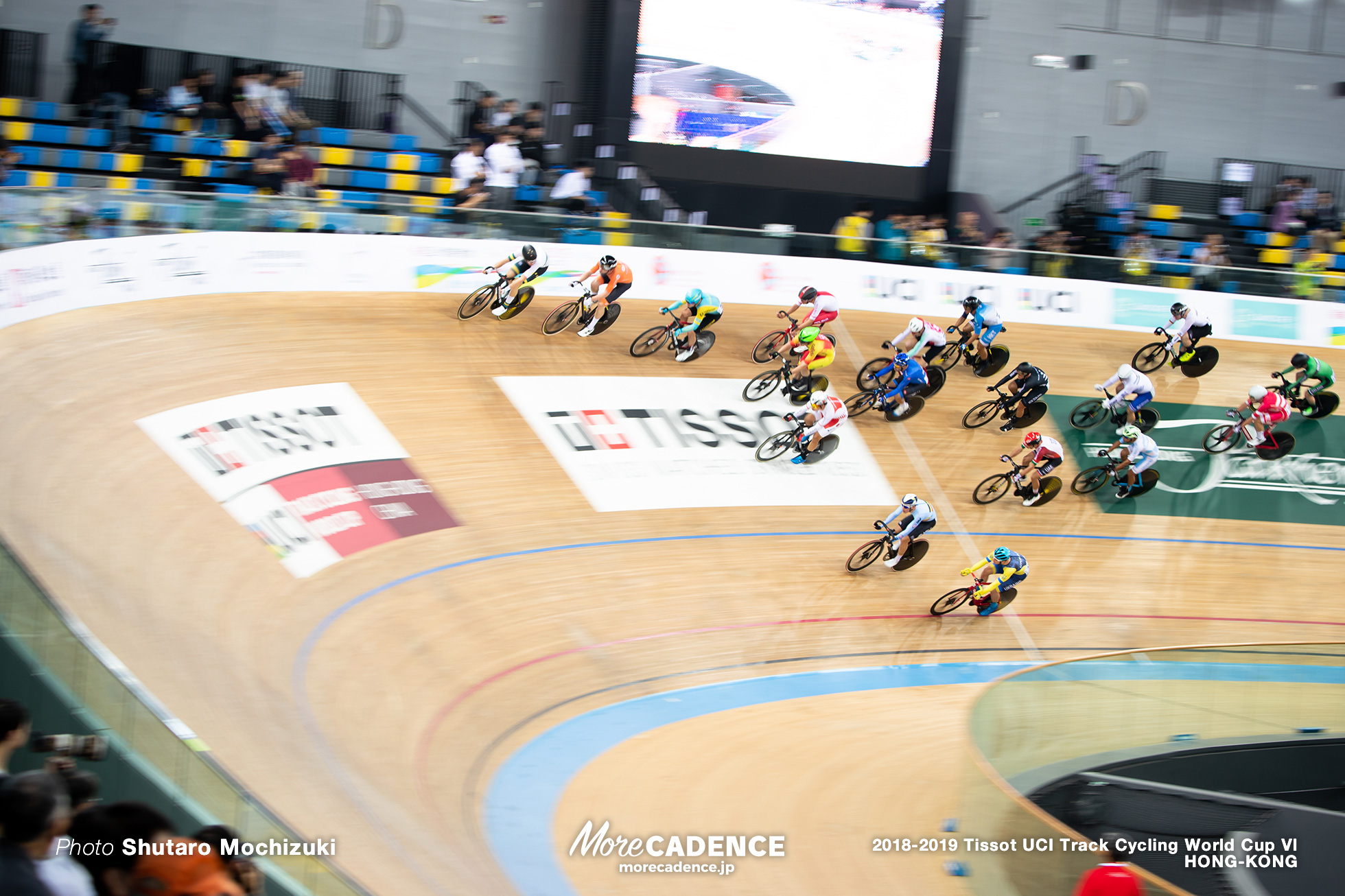 Scratch Race / Men's Omnium / Track Cycling World Cup VI / Hong-Kong