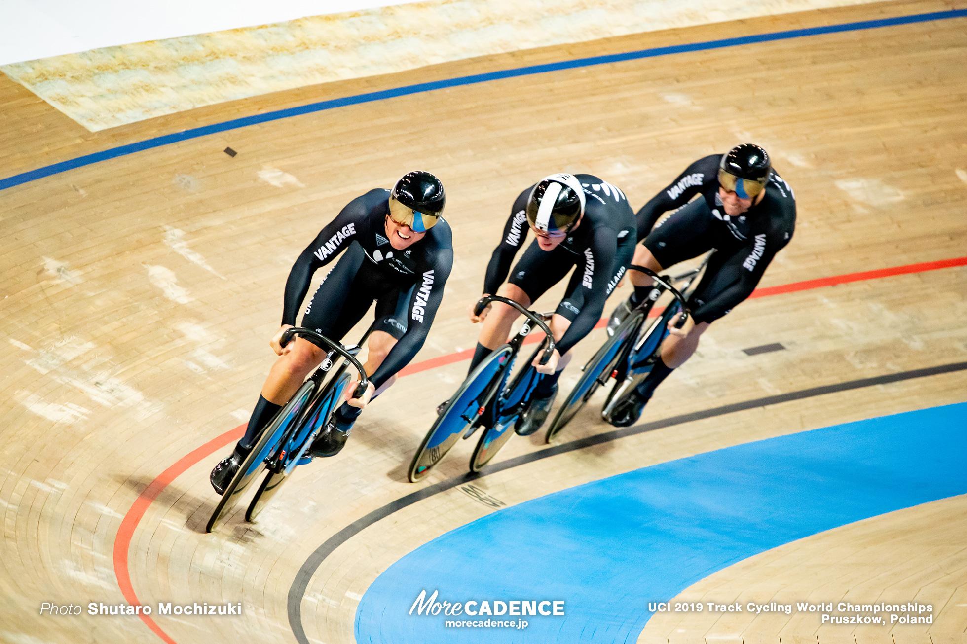 Men's Team Sprint / 2019 Track Cycling World Championships Pruszków, Poland