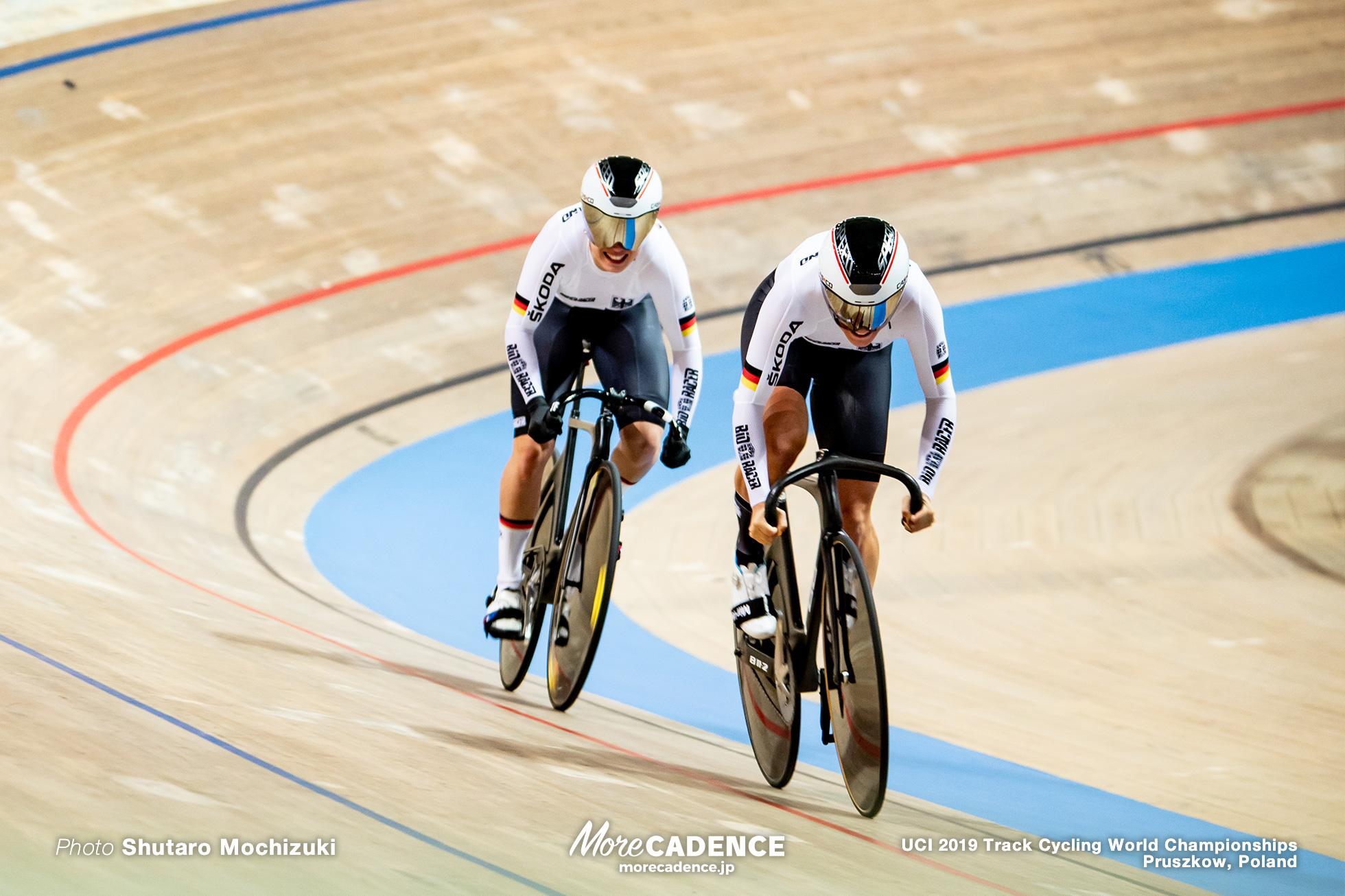 Women's Team Sprint Final / 2019 Track Cycling World Championships Pruszków, Poland