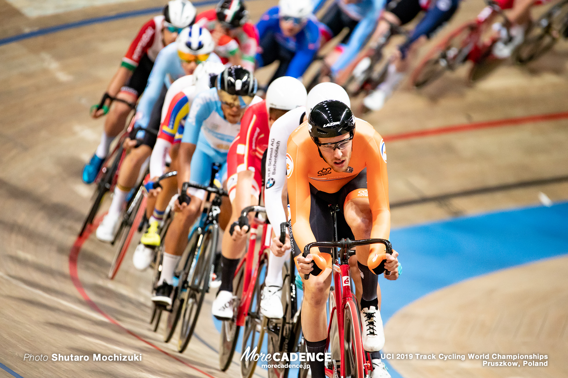 Men's Omnium Scratch / 2019 Track Cycling World Championships Pruszków, Poland