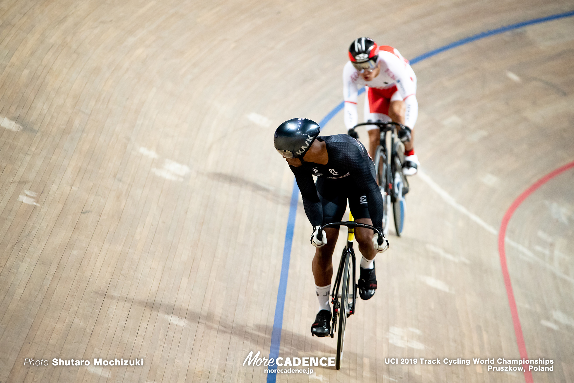 Men's Sprint 1/16 Final / 2019 Track Cycling World Championships Pruszków, Poland