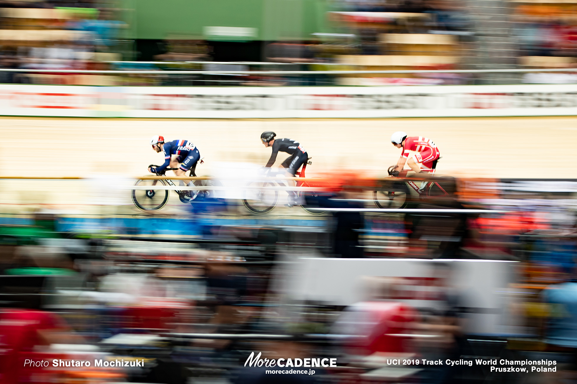 Men's Omnium Point Race / 2019 Track Cycling World Championships Pruszków, Poland