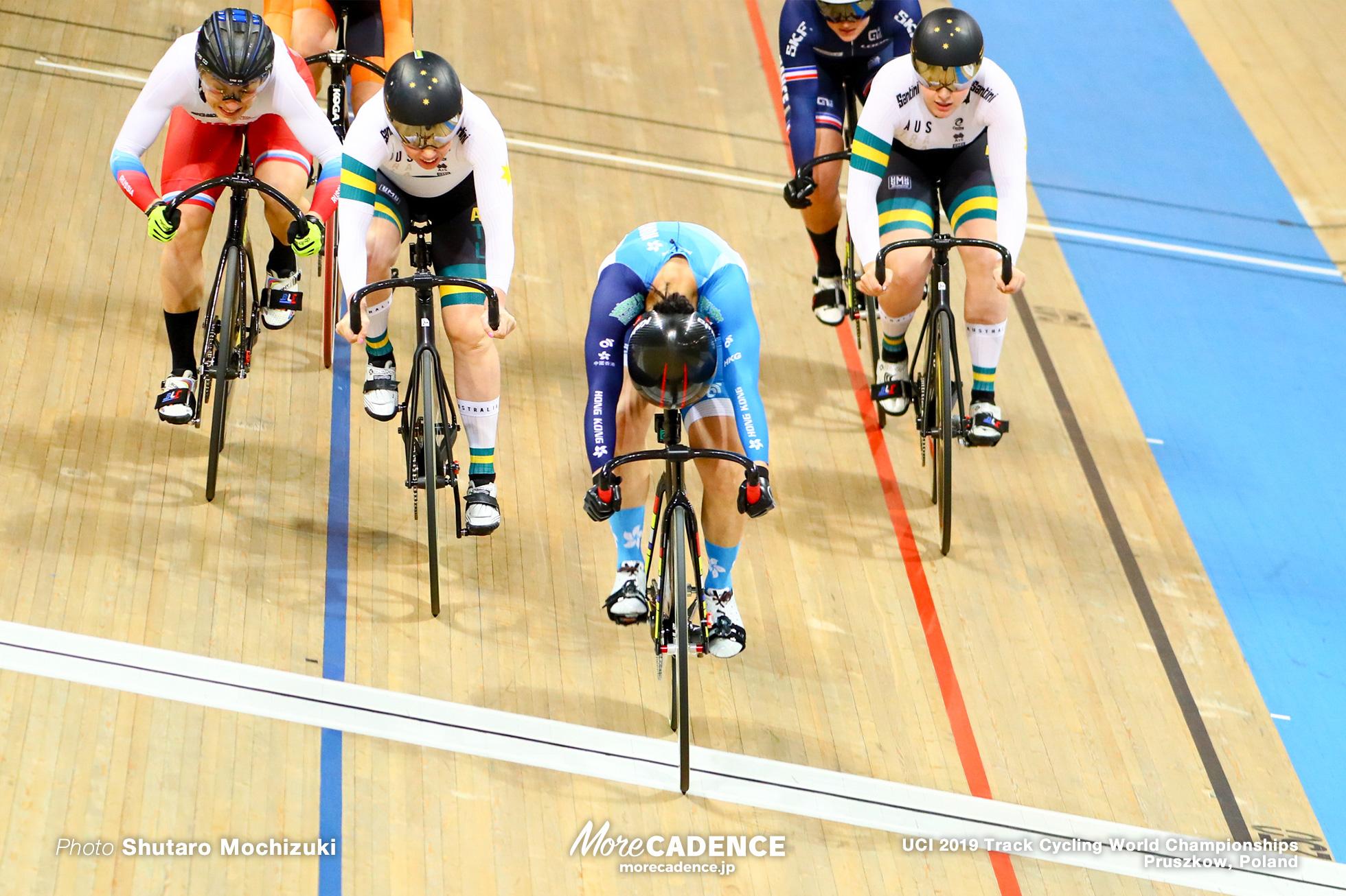 Women's Keirin Final / 2019 Track Cycling World Championships Pruszków, Poland