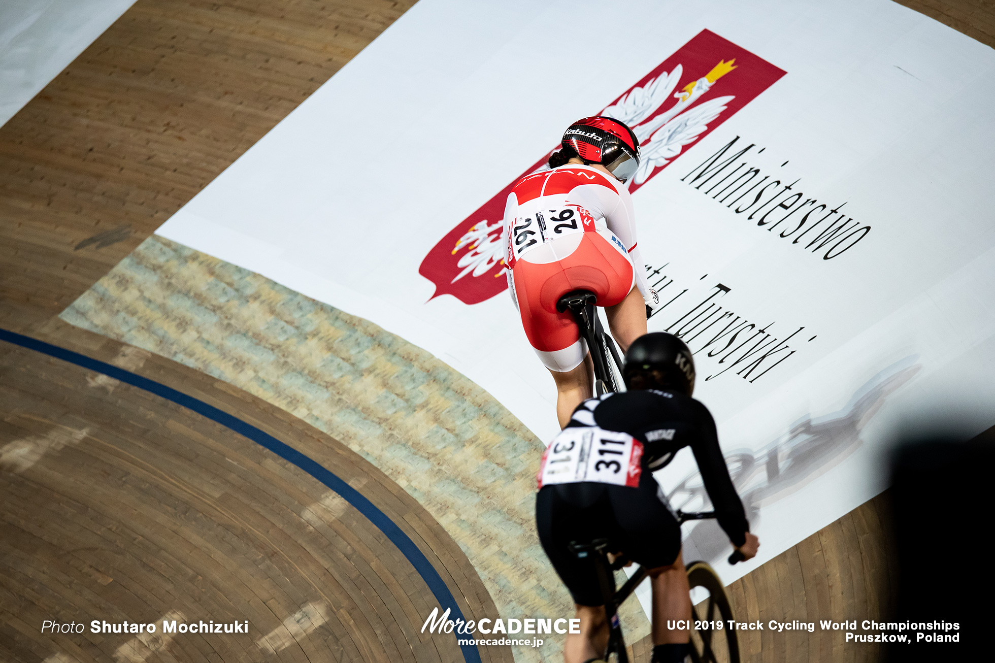 Women's Sprint 1/16 Final / 2019 Track Cycling World Championships Pruszków, Poland