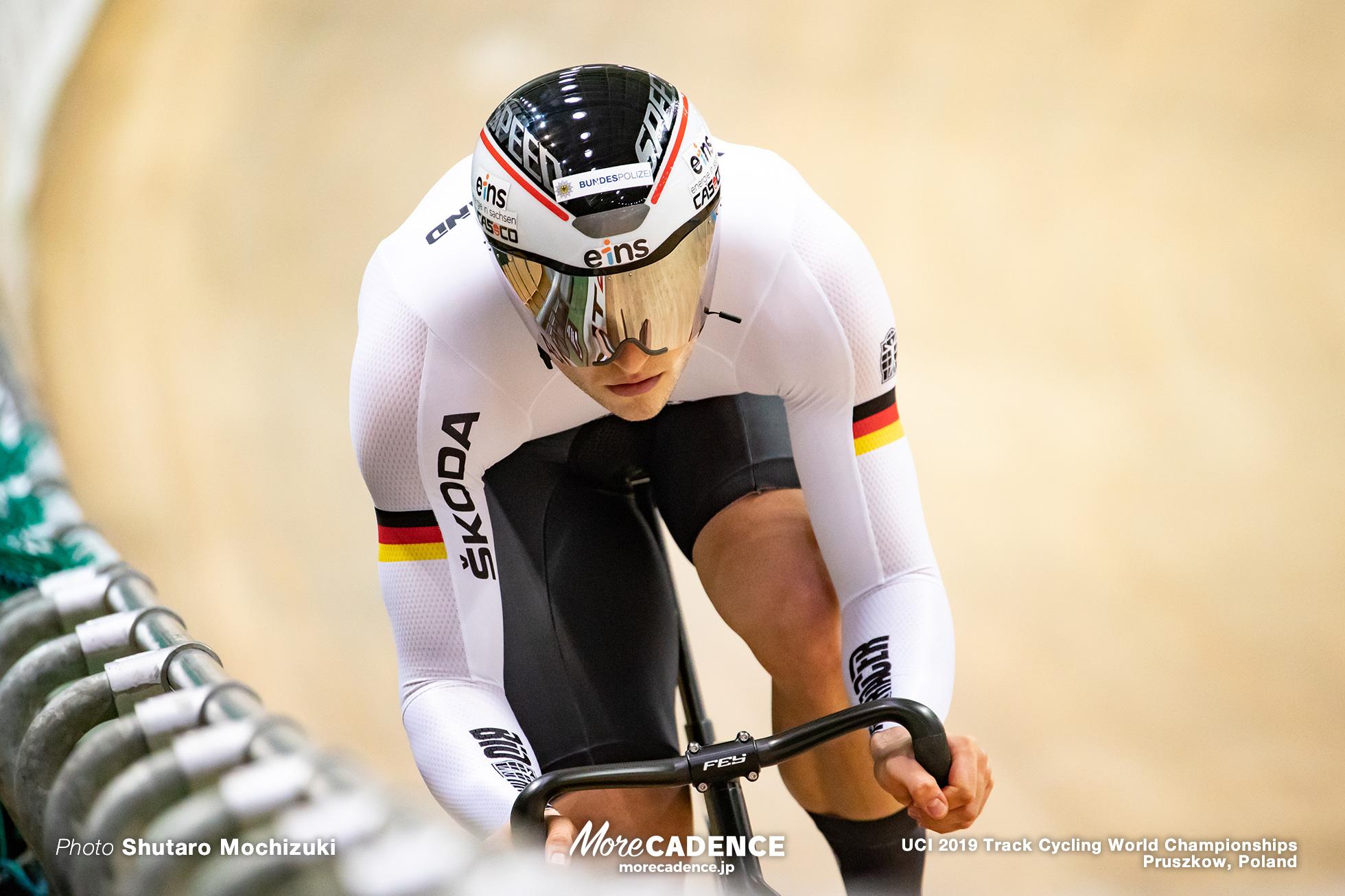 Men's Sprint Qualifying / 2019 Track Cycling World Championships Pruszków, Poland