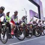 女子チームタイムトライアル、表彰台に一歩届かず4位/アジア選手権ロードレース 初日
