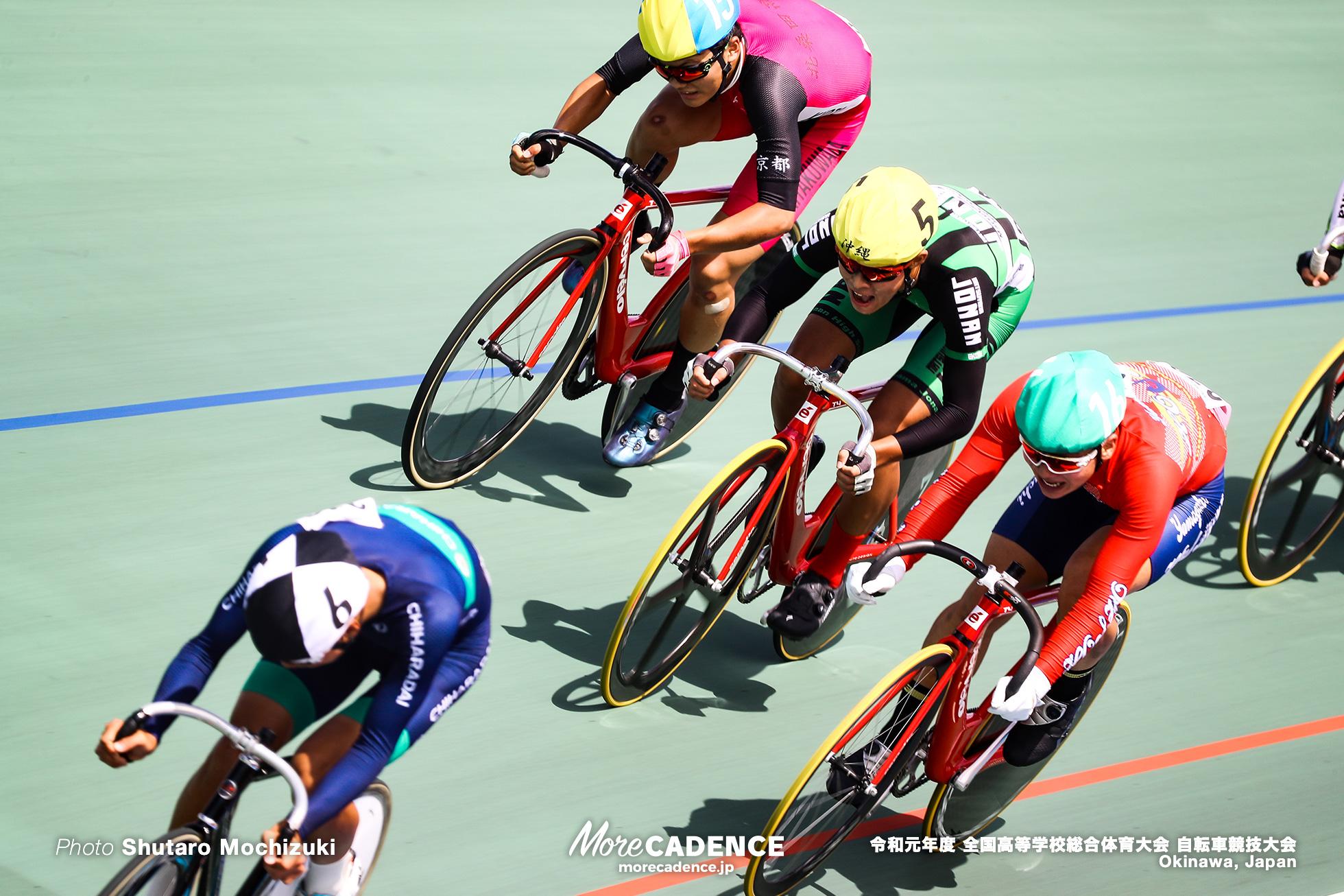 男子ポイントレース決勝 / インターハイ2019