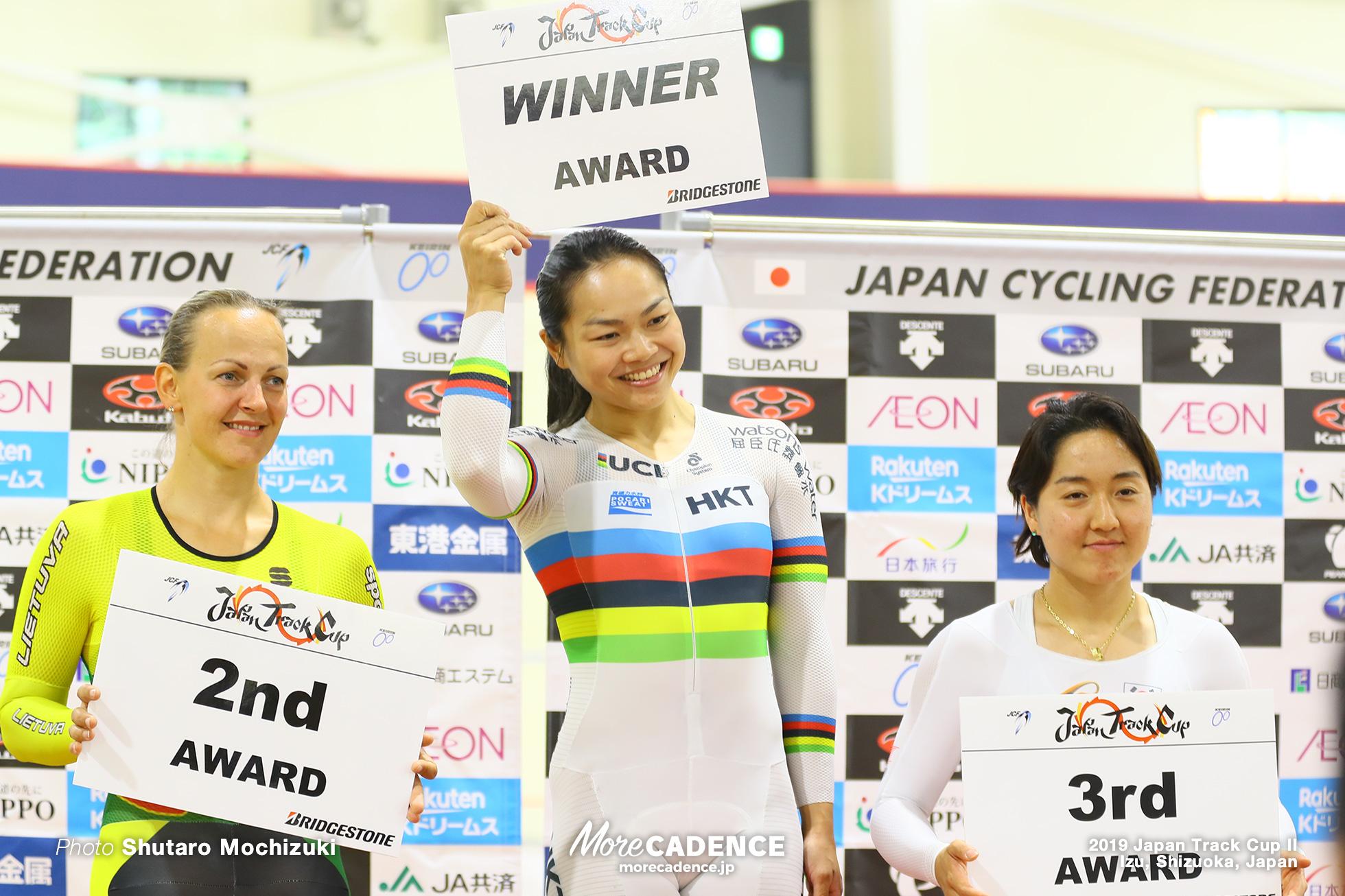 女子スプリント / 2019ジャパントラックカップⅠ
