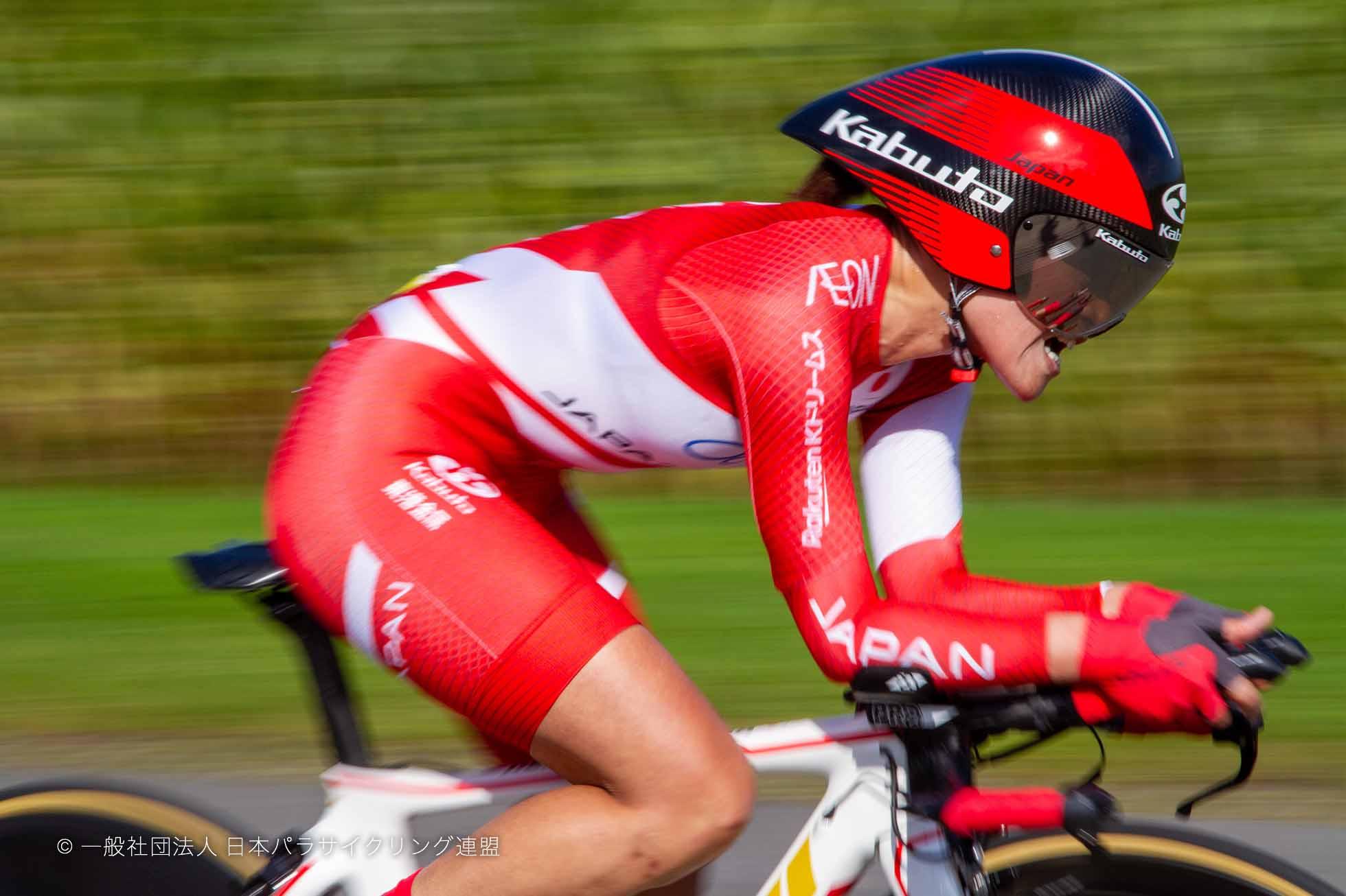 杉浦佳子がタイムトライアル銀 2019 UCI パラ ロード世界選手権