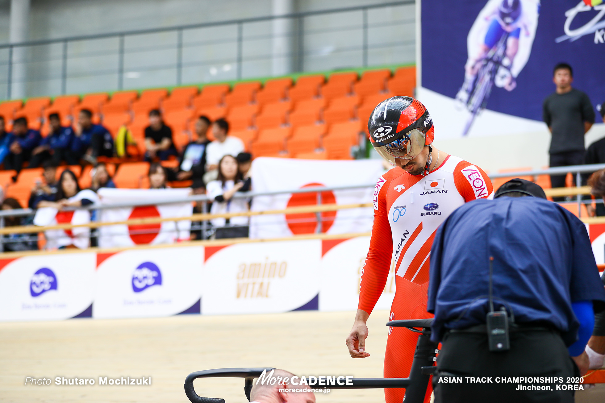 Final / Men Elite Team Sprint / ASIAN TRACK CHAMPIONSHIPS 2020
