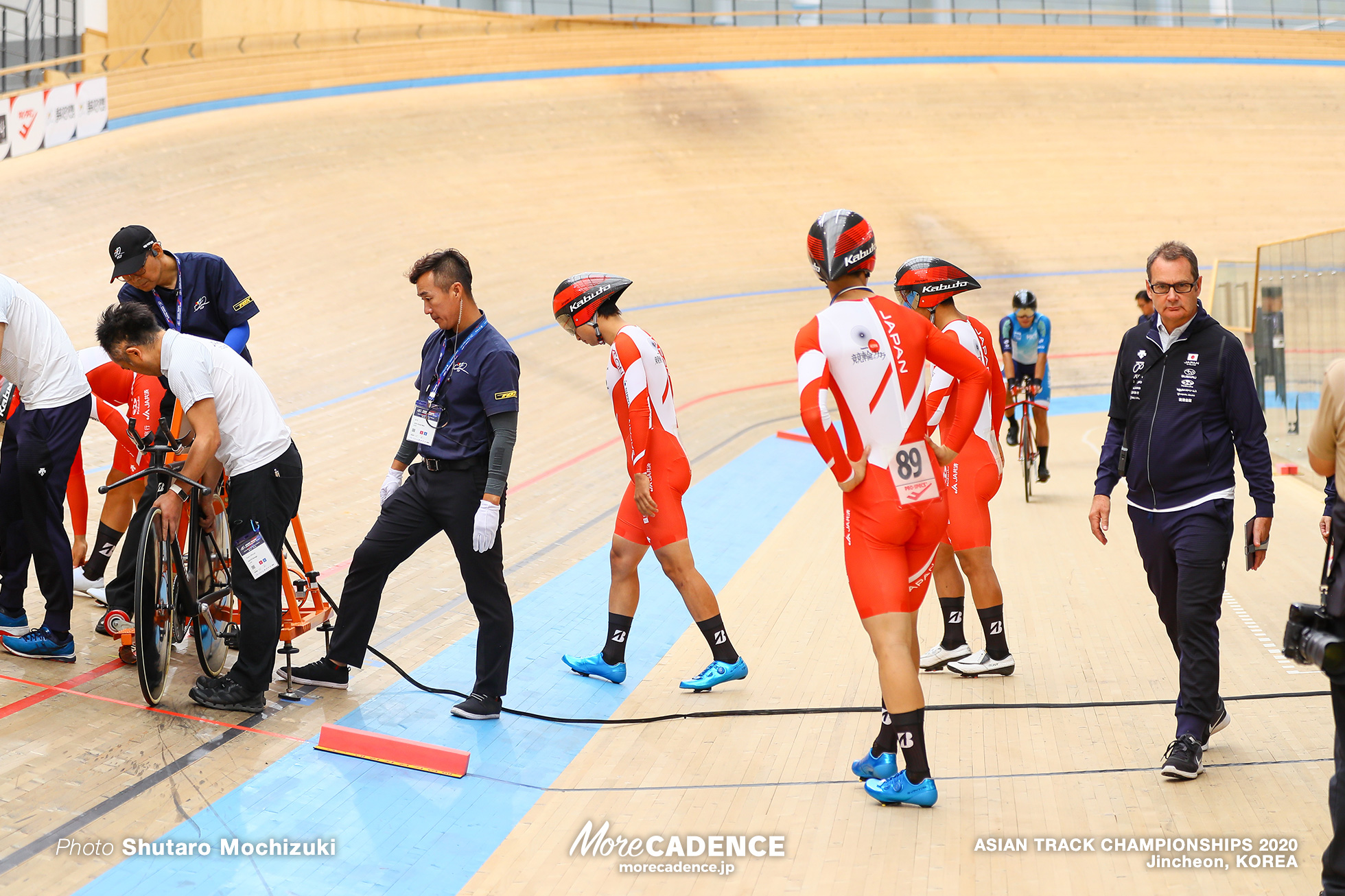 Qualifying / Men Elite Team Pursuit / ASIAN TRACK CHAMPIONSHIPS 2020