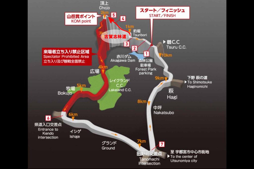 ジャパントラックカップコースマップ