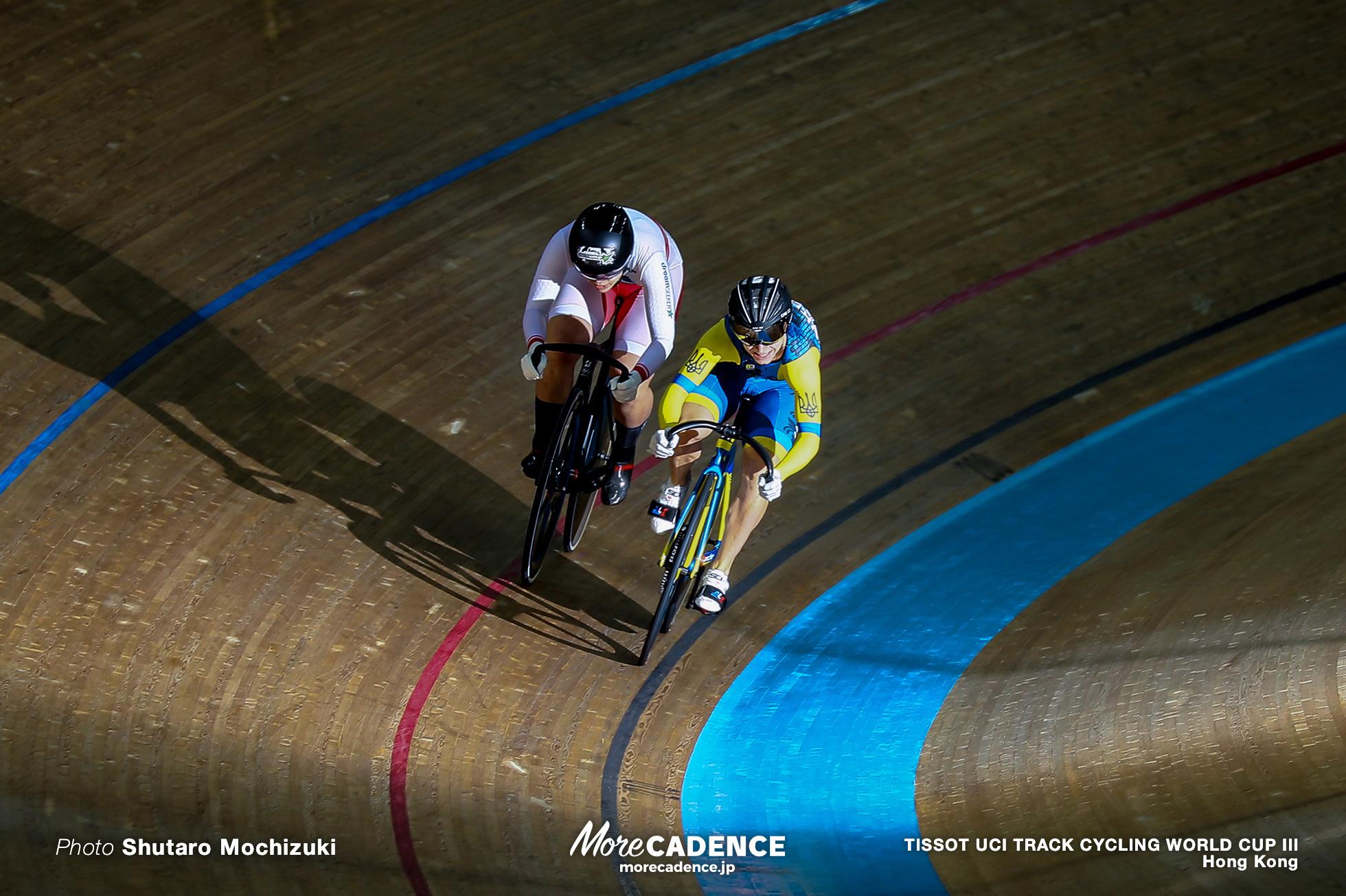 1/8 Finals / Women's Sprint / TISSOT UCI TRACK CYCLING WORLD CUP III, Hong Kong
