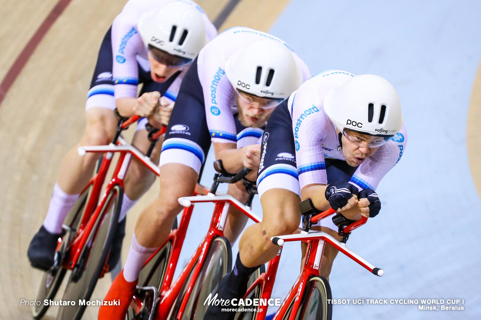 Final / Men's Team Pursuit / TISSOT UCI TRACK CYCLING WORLD CUP I, Minsk, Beralus