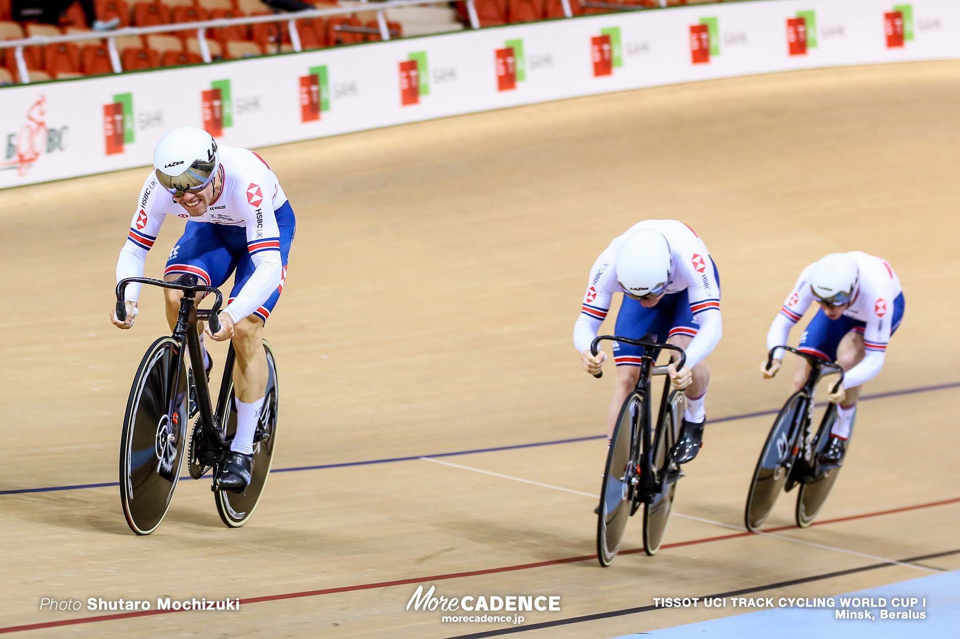 Men's Team Sprint / TISSOT UCI TRACK CYCLING WORLD CUP I, Minsk, Beralus