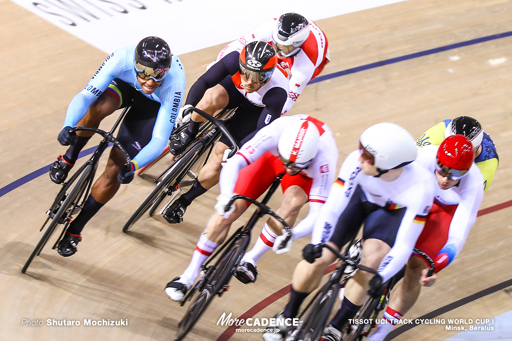 1st Round / Men's Keirin / TISSOT UCI TRACK CYCLING WORLD CUP I, Minsk, Beralus