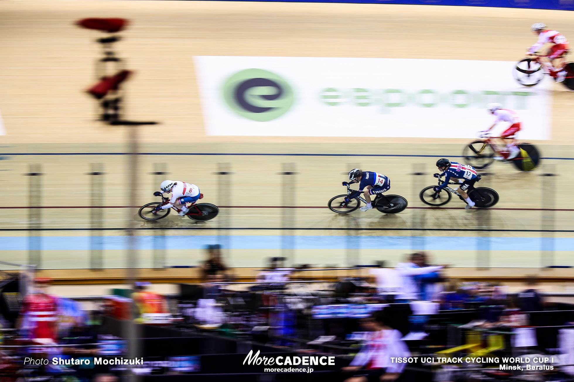 Women's Madison / TISSOT UCI TRACK CYCLING WORLD CUP I, Minsk, Beralus
